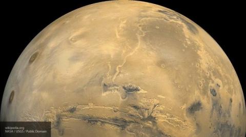 Исследователи NASA считают опасным возведение баз на спутниках Марса