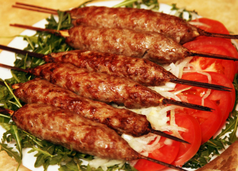 В таком маринаде скумбрия не уступает красной рыбе! Люля-кебаб в духовке.