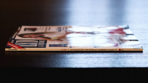 Журнал превратили в рекламу телевизора