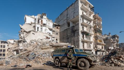 Сирия: российские наблюдател…