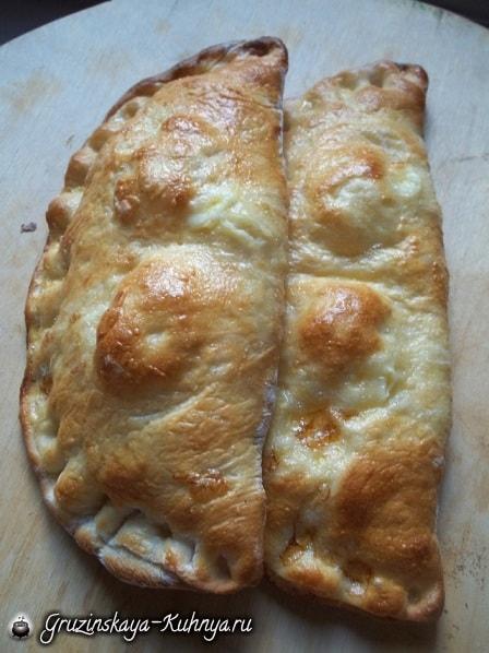 Гурийские хачапури с сыром и…