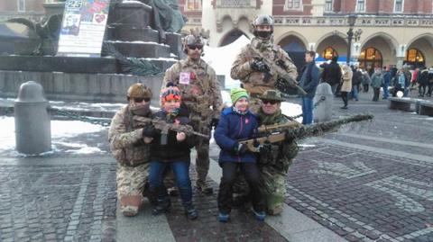 Войска США вошли в Краков, теперь «русский мир» точно не пройдёт.