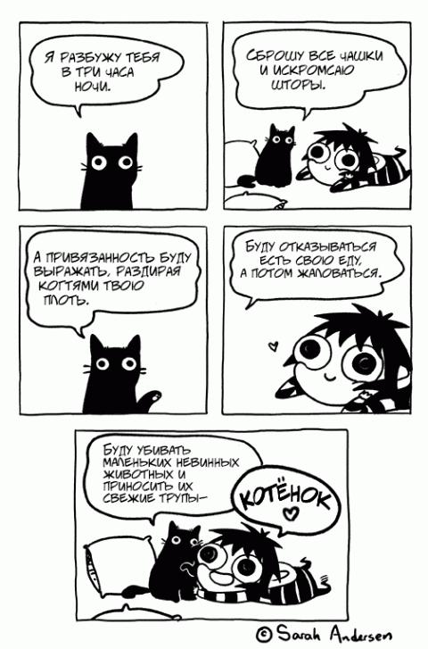 Утренние комиксы. Социальная неловкость, интровертность и другие признаки героини нашего времени