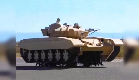 Бумажные советские танки на учениях НАТО
