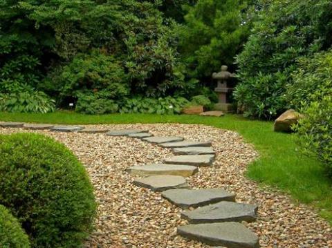 Садовая дорожка из щебня: быстро и просто!