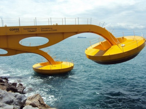 Как энергию волн в Бразилии …