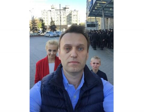 Навальный использует любое с…