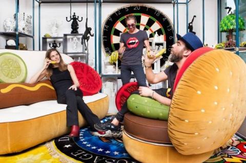 В Италии создали аппетитные диваны