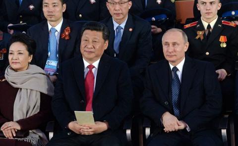 Ход конем: Россия и Китай по…