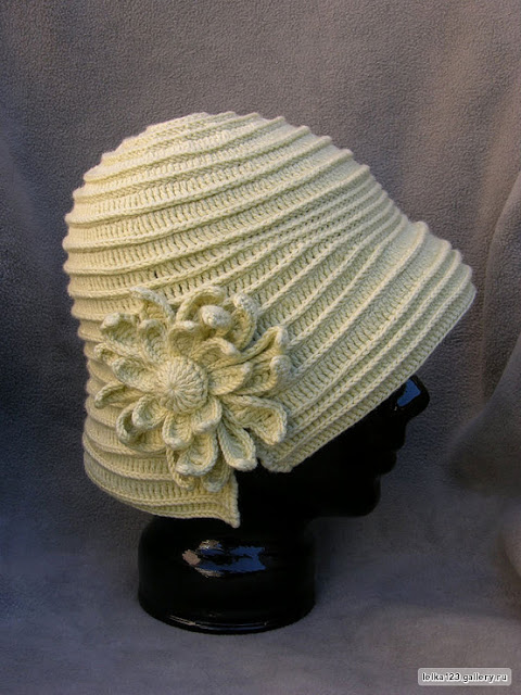 Женственная  нарядная шляпка…