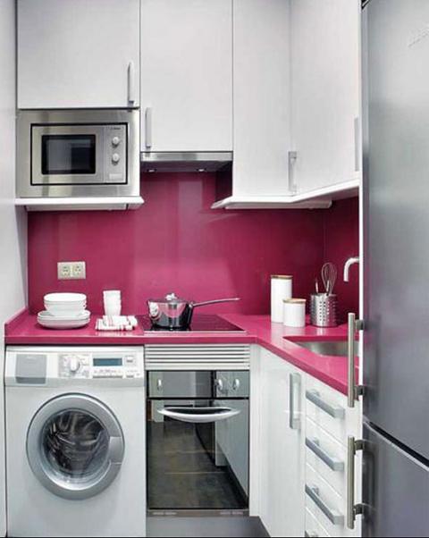 Как разместить все необходимое на маленькой кухне — советы с фотографиями