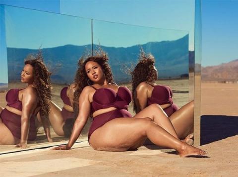 Модель plus-size Гэби Грегг выпустила коллекцию купальников для пышнотелых девушек