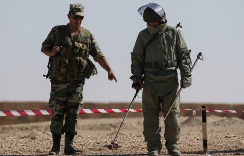 Первые саперы из РФ прибыли в Сирию