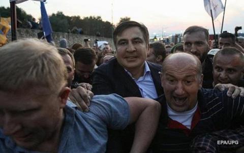 в Киеве заявили, что не отдадут Саакашвили грузинам, пока те не вынесут ему приговор