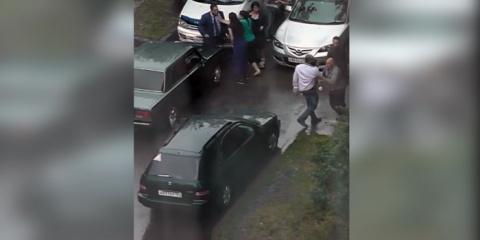 В Красноярске водители подра…