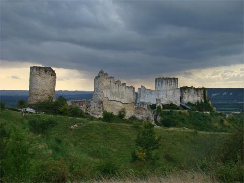 Замок Шато-Гайар, Франция (Château Gaillard)