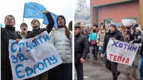 Ни одна мечта Майдана не сбы…