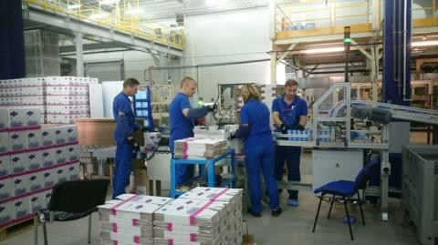 В Тульской области запущена новая линия производства гигиенической продукции