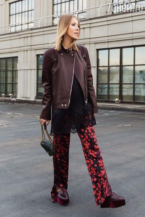 Образ дня: Ксения Собчак в Givenchy