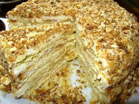Старинный рецепт торта Напол…
