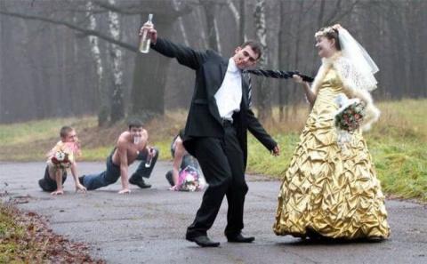 Крутые фотки с деревенских свадеб. Давно я так не смеялась!
