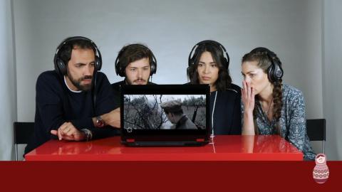 Итальянцы смотрят клип «Куку…