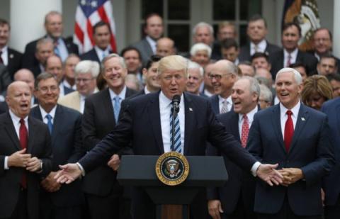 13 Men Tackle Health Care In the Senate