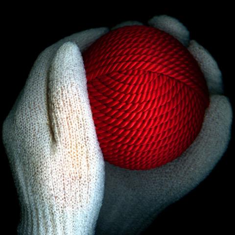 Шерстяная нитка при боле в суставе дирофен для суставов