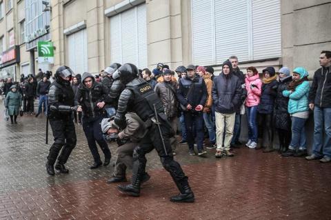 25.03.2017 Как прошел День воли в Беларуси?
