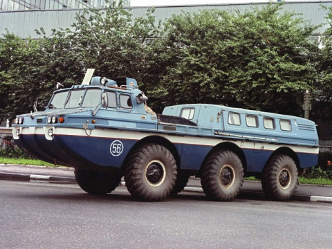 Самые удивительные машины великой советской марки ЗиЛ (19 фото)