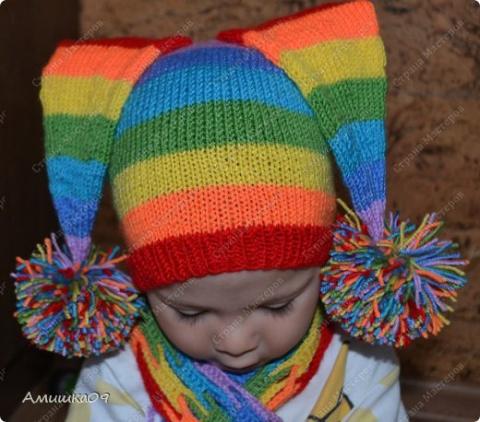 Бомбейская шапка с шарфиком и  оригинальный бонсай. (мастер-класс)