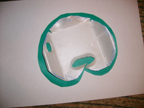 Кувшинки для дачи из ячеек под яйца