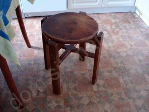Как из табуретки сделать обалденный столик