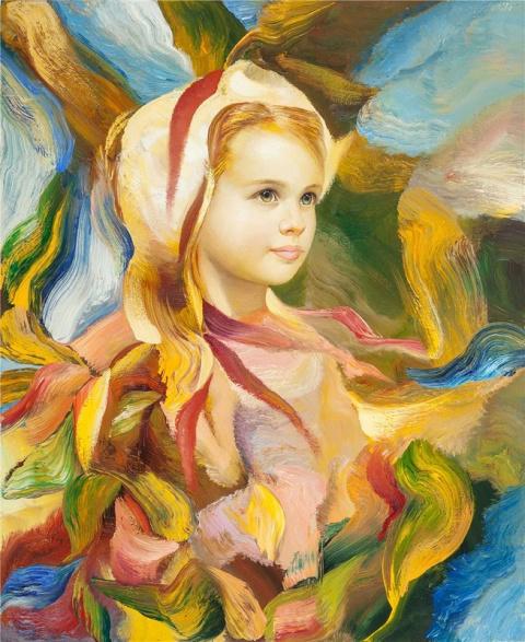 Ангельские безмятежные образы художника Francesco J.J.C. Masseria