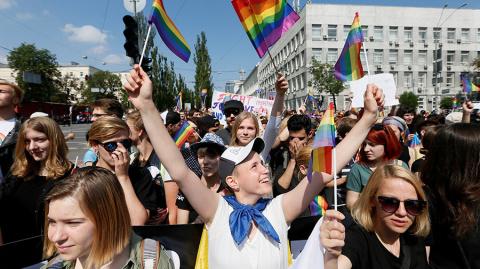 Киев влился в Европу, проведя полноценный гей-парад