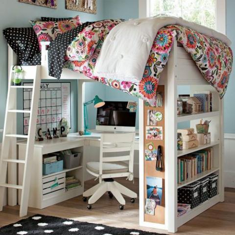 Интересное оформление детской комнаты - 33 идеи