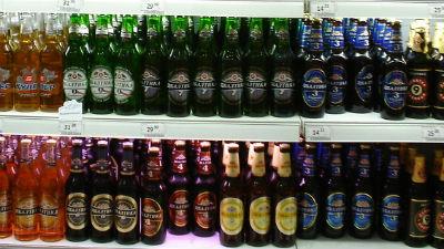 Падение продаж пива в России…