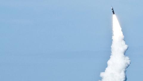 СМИ узнали о провале испытания британской баллистической ракеты