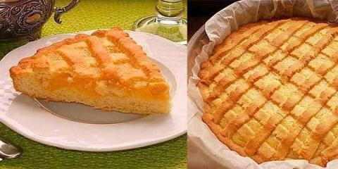 Нежный пирог с лимонным крем…