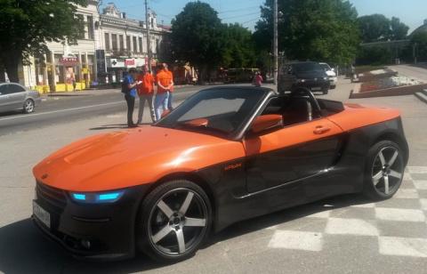 В Симферополе представили отечественный родстер «Крым»