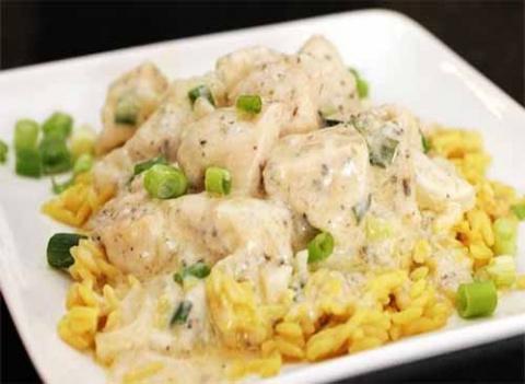 Филе курицы в кефирном маринаде
