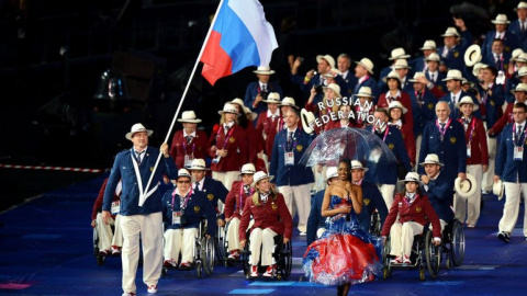 Портрет президента Международного паралимпийского комитета заменили на бумажку