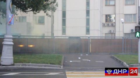 Национал-большевики РФ атаковали представительство НАТО в Москве