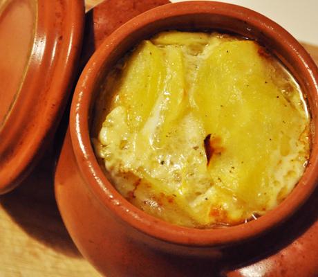 Картофель в горшочке (легко и быстро)