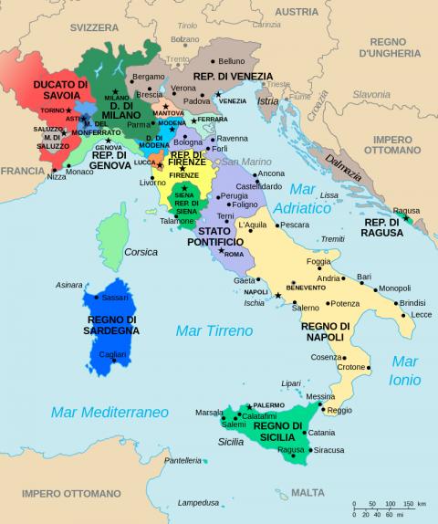 Как Корсика боролась за независимость. Король Теодор и республиканец Паскаль