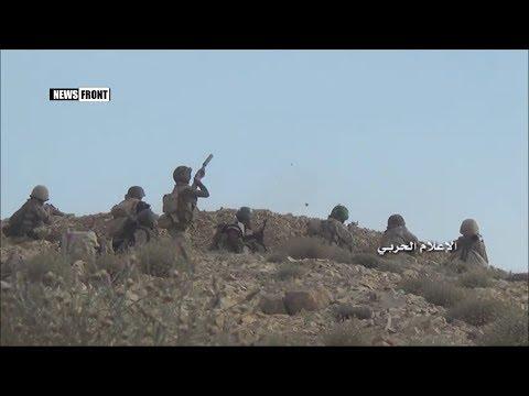 Продвижение «Хезболлах» и сирийской армии в горах Флика в  западном Каламуне
