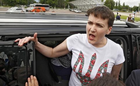 Пьянство — не порок: Савченко готова плюнуть в лицо украинцам
