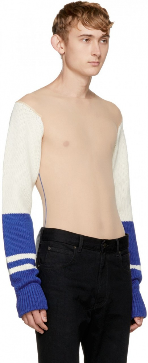 Голый свитер от Calvin Klein