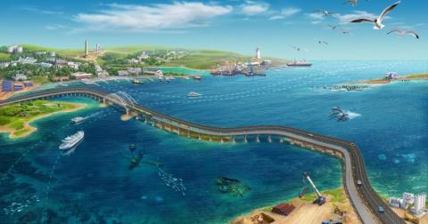Крымский мост: плавучие опор…