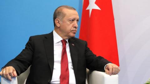Эрдоган гневно отреагировал …